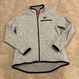 Nike zip up, size Large